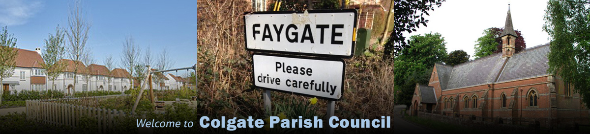 Header Image for Colgate Parish Council